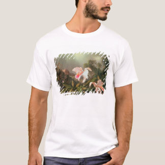 Orchidées de jungle et colibris, 1872 t-shirt