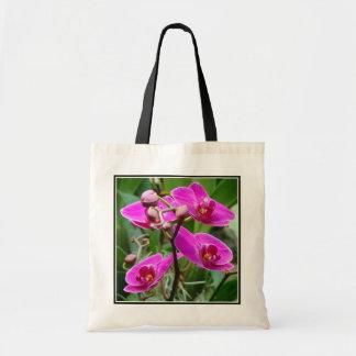 Orchidées de roses indien sacs fourre-tout
