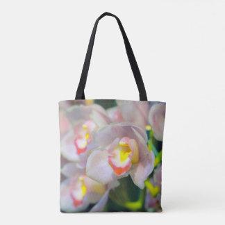 Orchidées en fleur sac