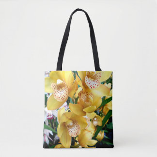 Orchidées jaunes de Cymbidium Sac