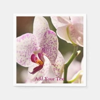 Orchidées par Shirley Taylor Serviettes En Papier