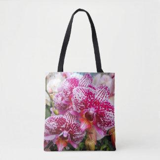 Orchidées roses de Dendrobium Sac