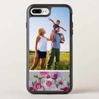 Orchidées roses de photo en fleur coque otterbox symmetry pour iPhone 7 plus
