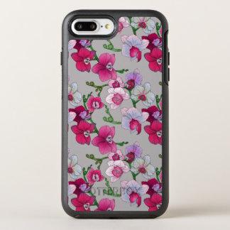 Orchidées roses en fleur coque otterbox symmetry pour iPhone 7 plus