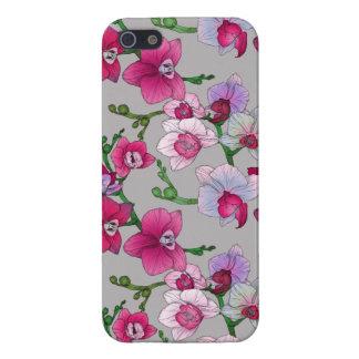 Orchidées roses en fleur étui iPhone 5