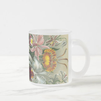 Orchidées vintages tasse à café