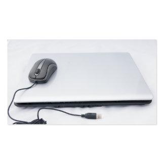 ordinateur cartes de visite personnelles