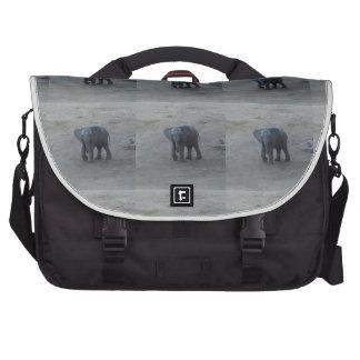 Ordinateur portable de Rickshaw d'éléphant de bébé Sac Pour Ordinateurs Portables