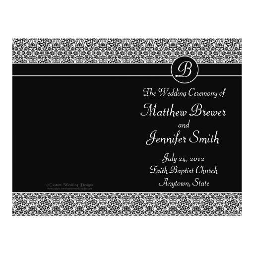 Ordre de mariage de programme de service et de cér prospectus