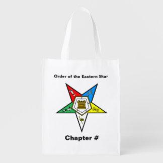 Ordre du sac réutilisable d'étoile orientale