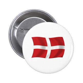 Ordre militaire souverain de bouton de drapeau de  badge