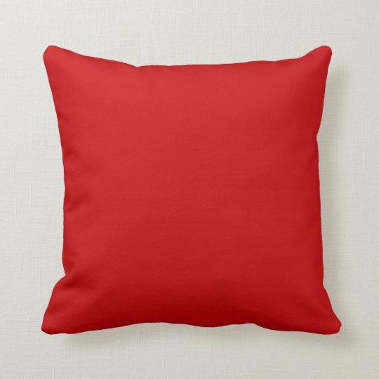 oreiller rouge
