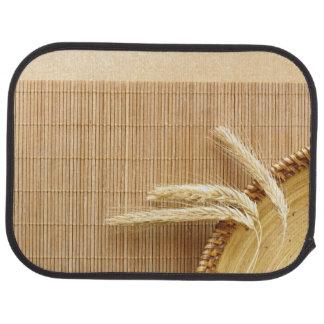 Oreilles de blé de plat en bois tapis de sol
