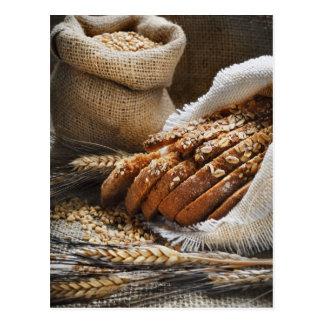 Oreilles de pain et de blé carte postale