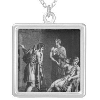Orestes et Pyrrhus Pendentif Carré