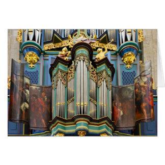 Organe, Breda, carte de voeux néerlandaise