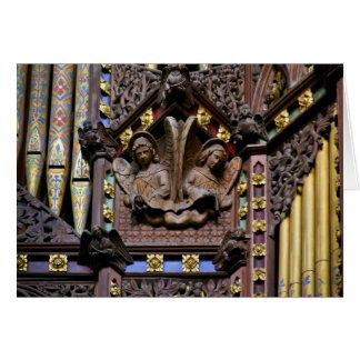 Organe, cathédrale d'Ely, carte de voeux
