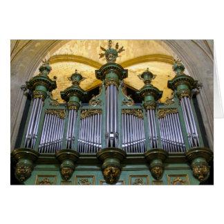Organe d'Aix-en-Provence Carte De Vœux