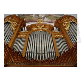 Organe d'Arth-Oberarth, Suisse Carte De Vœux