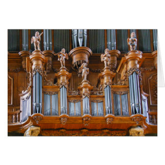 Organe de cathédrale d'Albi, France Cartes