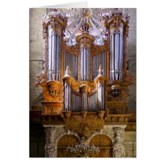 Organe de cathédrale de Béziers Cartes