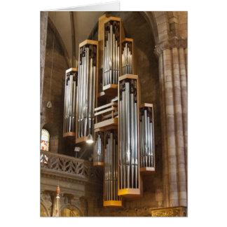 Organe de cathédrale de Fribourg Cartes