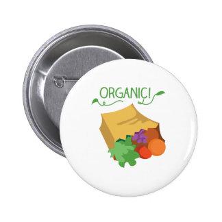Organique Badge Rond 5 Cm