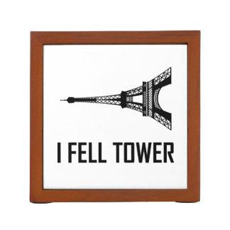 Organiseur De Bureau Je suis tombé Tour Eiffel