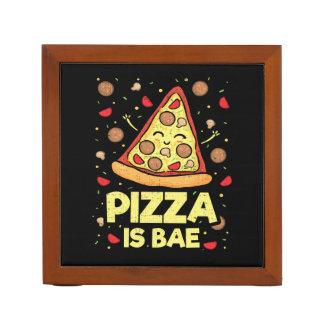 Organiseur De Bureau La pizza est Bae - bande dessinée drôle mignonne