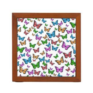 Organiseur De Bureau Papillons colorés