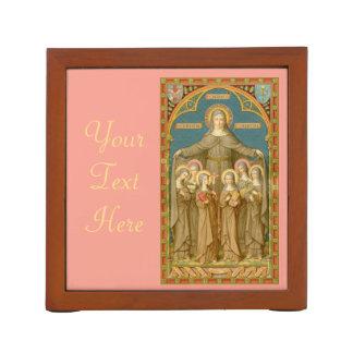 Organiseur De Bureau St Clare d'Assisi et des nonnes (SAU 27)