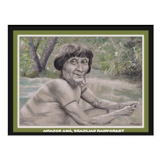 Orig de la carte postale W. art, aîné de forêt