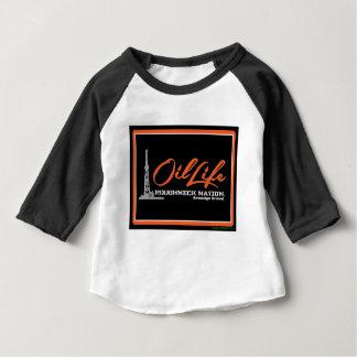 Original Copyright de la VIE d'HUILE T-shirt Pour Bébé