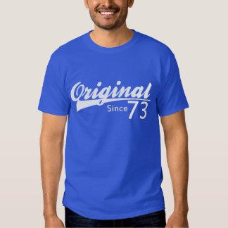 Original puisque le base-ball 73 a inspiré la t-shirt