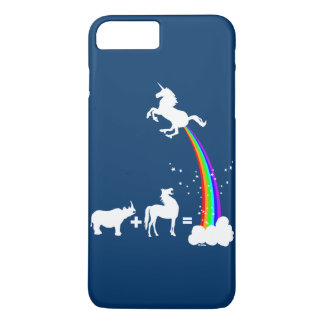 Origine drôle de licorne coque iPhone 7 plus