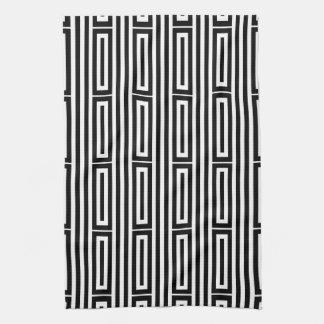 Origine ethnique abstraite serviette éponge