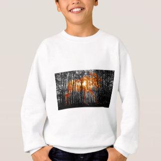 Orignaux dans les arbres sweatshirt