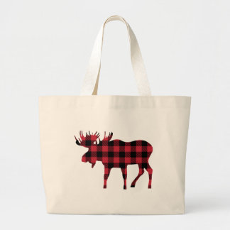 Orignaux de plaid de Buffalo, style de bûcheron, Grand Sac