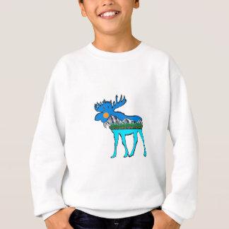 Orignaux de région sauvage sweatshirt