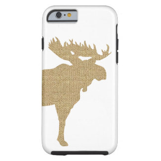 Orignaux de toile de jute coque iPhone 6 tough