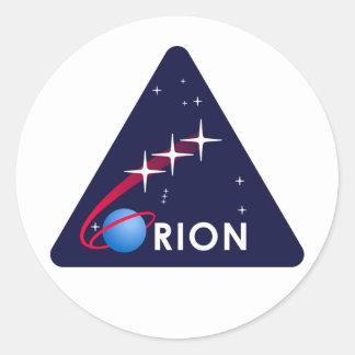 Orion Autocollants Ronds