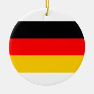 Ornement allemand de Noël de drapeau