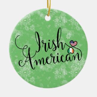 Ornement américain irlandais d'arbre de Noël de