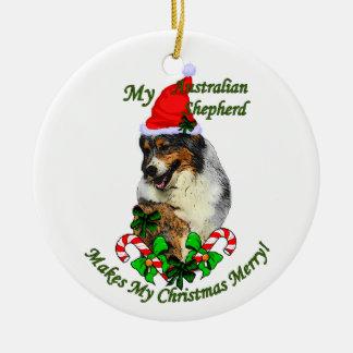 Ornement australien de cadeaux de Noël de berger