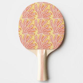 Ornement avec des oreilles de blé raquette tennis de table