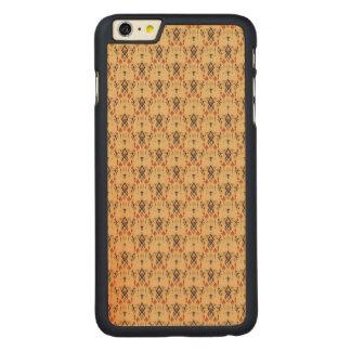 Ornement aztèque tribal ethnique vintage coque carved® en érable pour iPhone 6 plus case
