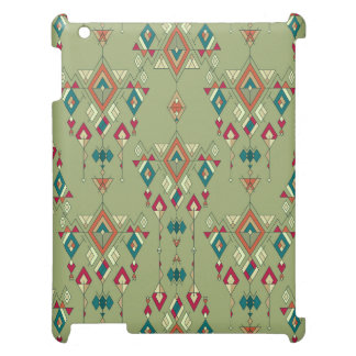 Ornement aztèque tribal ethnique vintage coque iPad