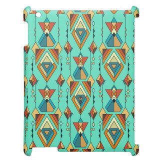 Ornement aztèque tribal ethnique vintage coque iPad