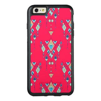 Ornement aztèque tribal ethnique vintage coque OtterBox iPhone 6 et 6s plus