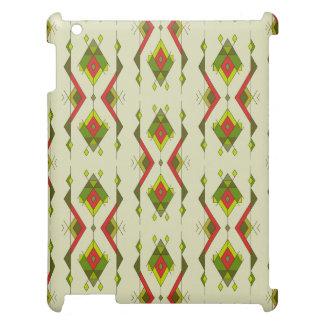 Ornement aztèque tribal ethnique vintage coque pour iPad
